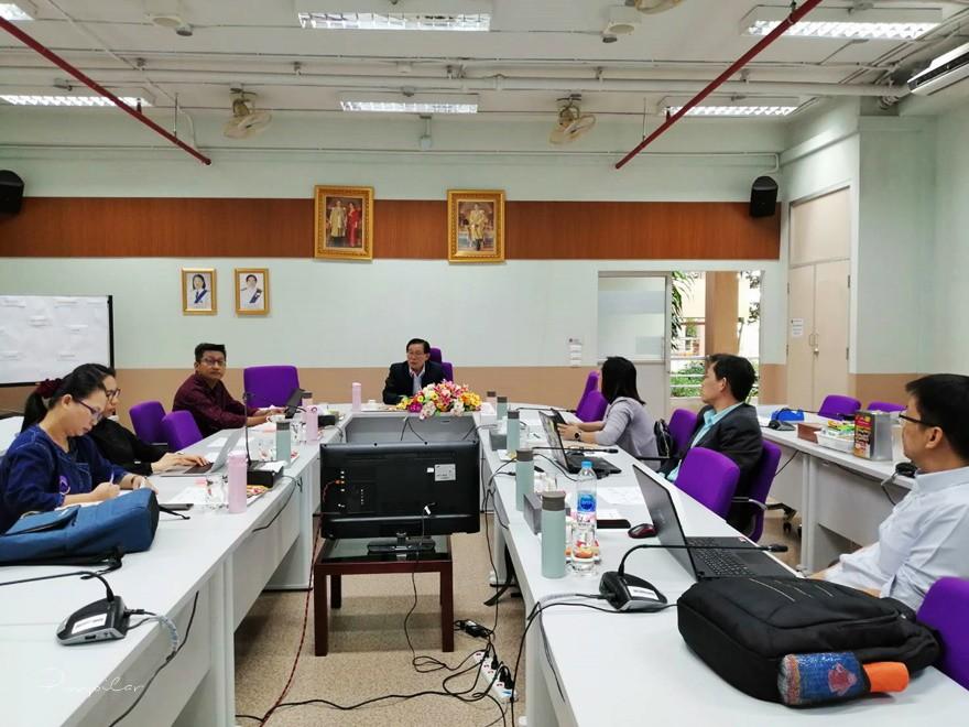 อาจารย์หลักสูตร วท.บ.สาขาวิชาสถิติ เข้าร่วมจัดประชุมคณะกรรมการศึกษาความเป็นไปได้ในการเปิดหลักสูตรวิทยาศาสตรบัณฑิต สาขาวิชาวิทยาการข้อมูล หลักสูตรใหม่ พ.ศ. 2564