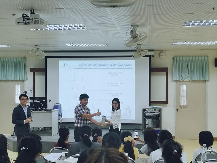 โครงการอบรมทักษะความรู้ทางเครื่องมือวิทยาศาสตร์ (โครมาโทกราฟีของเหลว1)